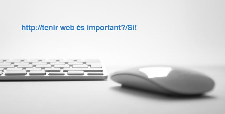 tenir-web-es-important